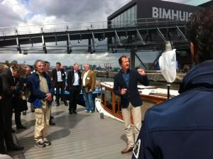 Waternet en DIVV bijeenkomst schone rondvaart met Hannekes Boot