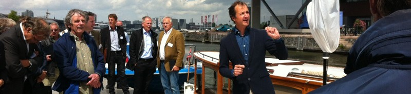 Hannekes Boot op Kennisnetwerk schone rondvaart
