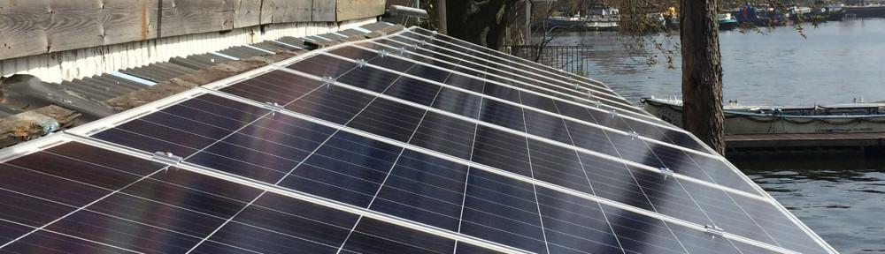 Hannekes Boot heeft nieuwe zonnepanelen; ze is nog meer energie-positief!